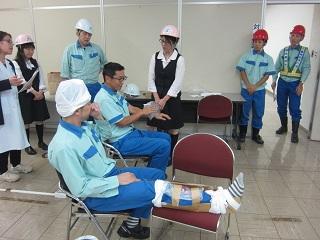 防災訓練 (日本製紙(株)釧路工場)