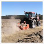 畝作り作業