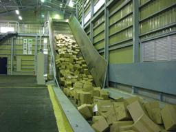 機密書類のリサイクル設備