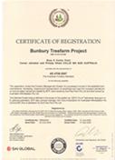 オーストラリアBTP社のAFS証書