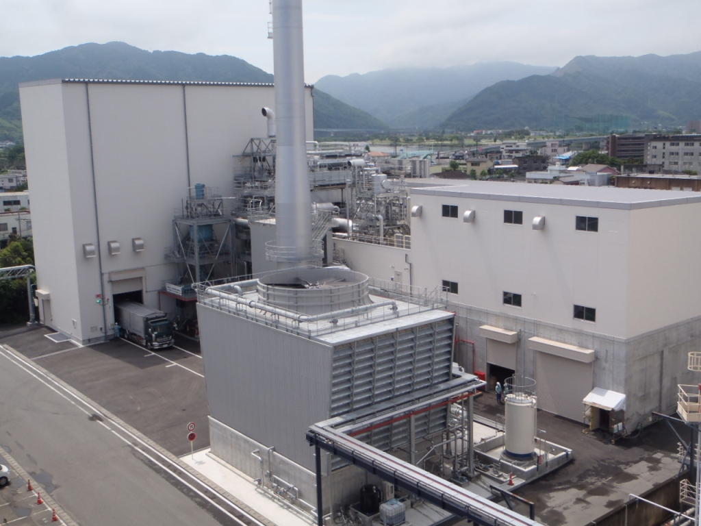 Completion of Biomass Power Plant Using 100% Unused Woody