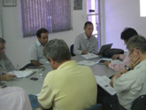 Discussions with local staff