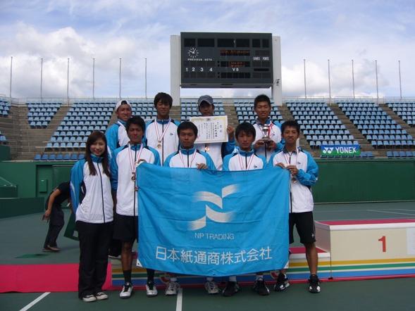 紙通商テニス部