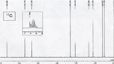 13C-NMRスペクトル