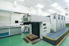 4色枚葉オフセット印刷機